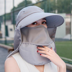 Detachable UPF50 Sun Hat Mask