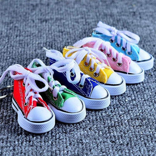 Casual Shoes Simulation Mini Keychain
