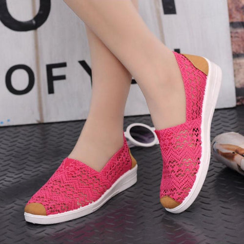 Slip-On Mesh Shoes for Ladies