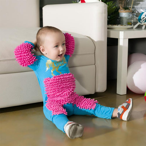Baby Mop Romper Outfit