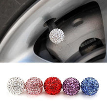 Load image into Gallery viewer, Diamond Universal Car Tire Air Sealing Cap(4 pieces)