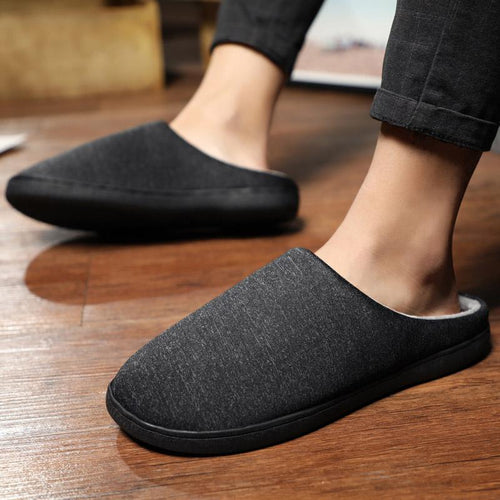 Unisex Indoor Cotton Slippers