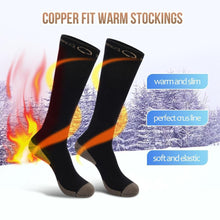 Load image into Gallery viewer, Copper Fit Warm Stockings