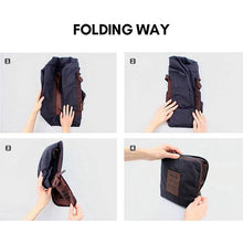 Load image into Gallery viewer, Foldable, waterproof travel bag with large capacity