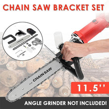 Load image into Gallery viewer, Electric Chainsaw Bracket Set for Angle Grinder(11.5 inch)