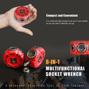 8-in-1 Multifunctional Socket Wrench