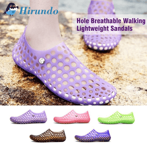 Hirundo Hole Breathable Walking Lightweight Sandals