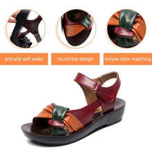 Load image into Gallery viewer, Comfortable Flat Sandals With Soft Soles