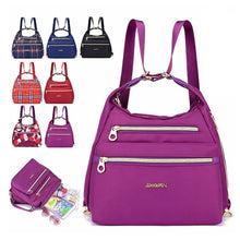 Load image into Gallery viewer, Bag with Double Zippers, Handbag and Shoulder Bag