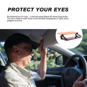Car HD Anti-Glare Sun Visor