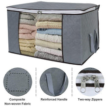 Load image into Gallery viewer, Large Capacity Breathable Clothes Quilt Storage Bag