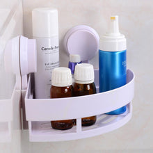 Load image into Gallery viewer, Bathroom Corner Storage Rack Organizer