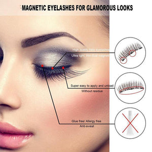 Magnetic Waterproof Eyelashes