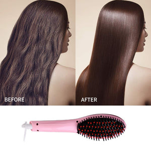 Hair Straightening Brush(British Standard)