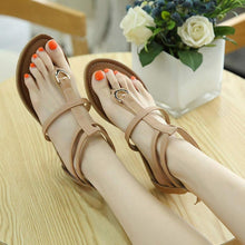 Load image into Gallery viewer, Fashion Female Roman Sandals