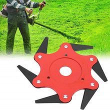 Load image into Gallery viewer, Universal 6 Blades Trimmer Head for Lawn Mower