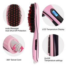 Load image into Gallery viewer, Hair Straightening Brush(British Standard)