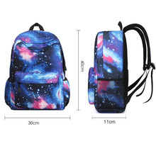 Load image into Gallery viewer, Galaxy Backpack Unisex School Backpack Cute Bag