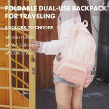 Load image into Gallery viewer, Foldable dual-use backpack for traveling