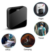 Load image into Gallery viewer, Mini Power Bank Portable Charger 10000mAh High Capacity with LCD mirror Display