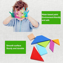 Load image into Gallery viewer, Educational Toy - Puzzle Blocks (7 PCs)