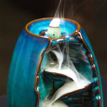 Load image into Gallery viewer, Mountain River Waterfall Back-flow Incense Holder