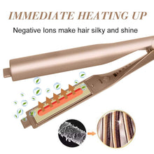 Load image into Gallery viewer, Hirundo 2-IN-1 Silky Hair Straightener & Curling Iron