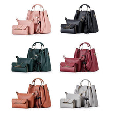 Load image into Gallery viewer, Ladies Fashion Purses and Handbags 3 PCS Sets