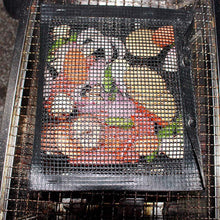 Load image into Gallery viewer, Reusable Non-Stick BBQ Mesh Grill Bags