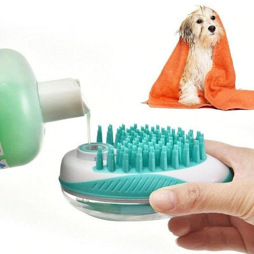 Pet Bath and Massage Brush