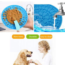 Load image into Gallery viewer, Dog Lick Mat for Bath Grooming