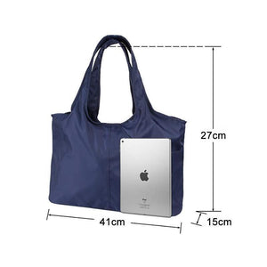 Ladies Large Capacity Handbag, Nylon Waterproof Shoulder Bag