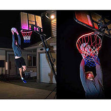 Load image into Gallery viewer, Basketball Hoop -Activated LED Strip Light-6 Flash Modes