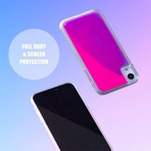 Load image into Gallery viewer, Dynamic Quicksand Flowing Neon Sand Liquid Phone Case