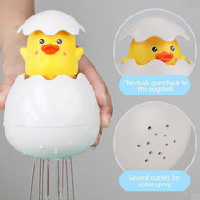 Load image into Gallery viewer, Hatching Duckling Spray Bath Toy