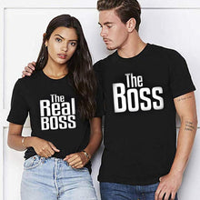 Load image into Gallery viewer, Matching Couple Shirts-The BOSS&The Real BOSS Shirts