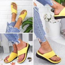 Load image into Gallery viewer, Comfortable Sandals With Thick Soles