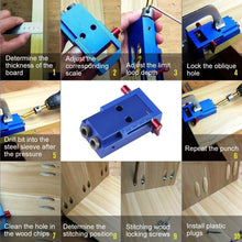 Load image into Gallery viewer, Domom® Mini Pocket Hole Jig Kit