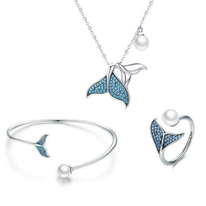 Mermaid Tail 925 Silver