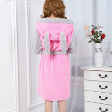 Load image into Gallery viewer, Bunny Fleece Robe