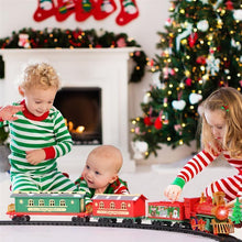 Load image into Gallery viewer, Christmas Electric Rail Car Train Toy