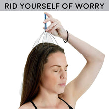 Load image into Gallery viewer, Hair Stimulation & Relaxation Handheld Head Massager