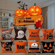 Load image into Gallery viewer, Halloween Decoration Pumpkin Cushion Cover