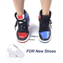 Load image into Gallery viewer, New Anti-Wrinkle Sneaker Shields Protector