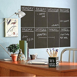 Black Chalkboard Stickers Adhesive Blackboard