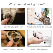 Load image into Gallery viewer, Electric Pet Nail Grinder