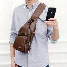 Load image into Gallery viewer, Crossbody Bag  With USB Charge Port