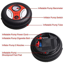 Load image into Gallery viewer, Mini Car Tire Inflator Pump