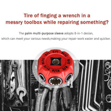 Load image into Gallery viewer, 8-in-1 Multifunctional Socket Wrench
