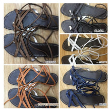 Load image into Gallery viewer, Bohemia straps beach casual shoes